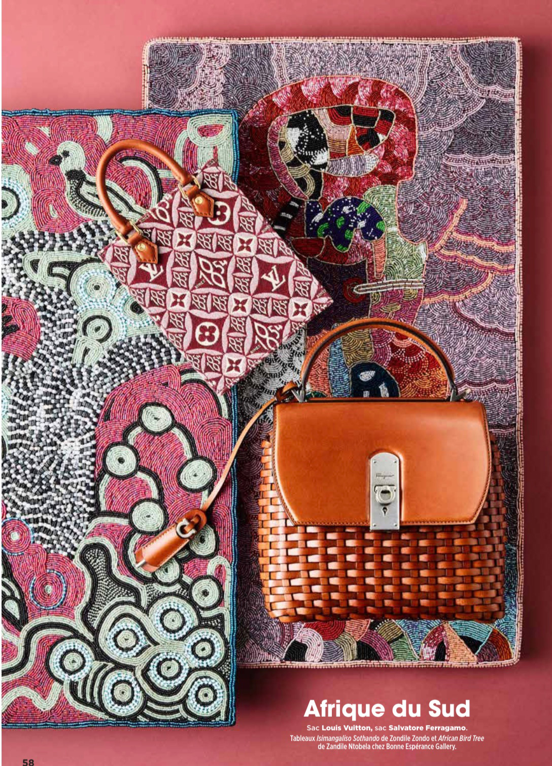 Louis Vuitton Paris African Art Ubuhle Beads